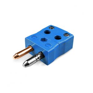 Standard Quick Wire Thermocouple Connector Plug AS-T-MQ Type T ANSI