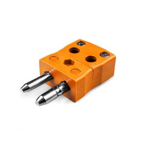Standard Quick Wire Thermocouple Connector Plug AS-N-MQ Type N ANSI