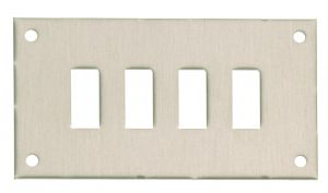 Panels for Standard Fascia Sockets (Type FF)