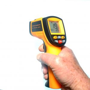 IR GM700 Infrared Thermometer with Hard Case