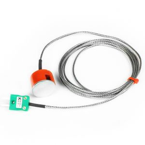 3kg Pull Magnet Thermocouple, SSOB PFA Insulated with Fitted Plug - Type K
