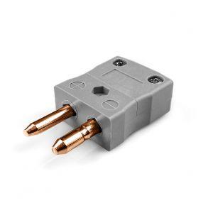 Standard Thermocouple Connector Plug AS-B-M Type B ANSI