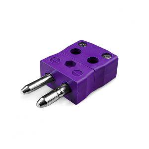 Standard Quick Wire Thermocouple Connector AS-E-MQ Plug Type E ANSI