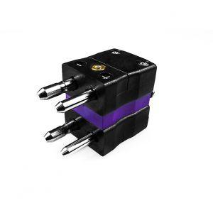 Standard Thermocouple Connector Duplex Plug AS-E-MD Type E ANSI