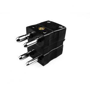 Standard Thermocouple Connector Duplex Plug AS-J-MD Type J ANSI
