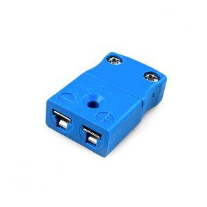 Miniature Thermocouple Connector In-Line Socket JM-K-FS Type K JIS