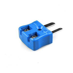 Miniature Quick Wire Thermocouple Connector Plug JM-K-MQ Type K JIS