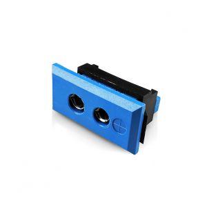 Standard Rectangular Fascia Thermocouple Connector Socket JS-K-FF Type K JIS