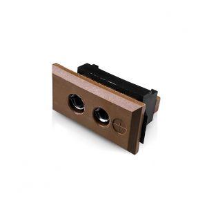 Standard Rectangular Fascia Thermocouple Connector Socket JS-T-FF Type T JIS
