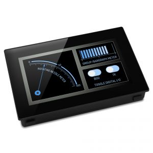 """Lascar PanelPilot SGD 43-A - 4.3"""" Display with Analogue, Digital, PWM and Serial Interfaces"""