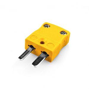 Miniature Thermocouple Connector Plug AM-K-M Type K ANSI