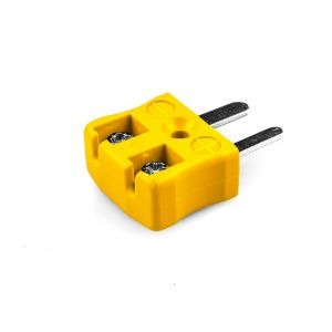 Miniature Quick Wire Thermocouple Connector Plug AM-K-MQ Type K ANSI
