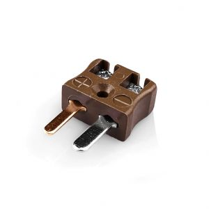 Miniature Quick Wire Connector Thermocouple Plug IM-T-MQ Type T IEC