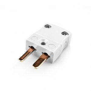 Miniature Thermocouple Connector Plug FMTC-CU-M Type Cu