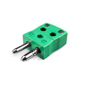 Standard Quick Wire Thermocouple Connector Plug IS-K-MQ Type K IEC