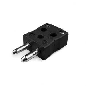 Standard Quick Wire Thermocouple Connector Plug IS-J-MQ Type J IEC