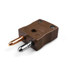 Standard Thermocouple Connector Plug IS-T-M Type T IEC