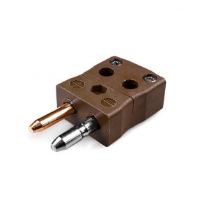 Standard Quick Wire Thermocouple Connector Plug IS-T-MQ Type T IEC