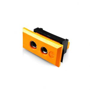 Standard Rectangular Thermocouple Connector Fascia Socket IS-R/S-FF Type R/S IEC