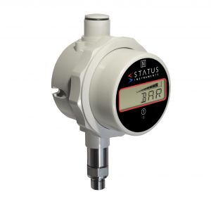 Status DM650PM - Side Mounted 0-3 bar Pressure & Temperature Indicator With Data Logging, Alarm & Messaging