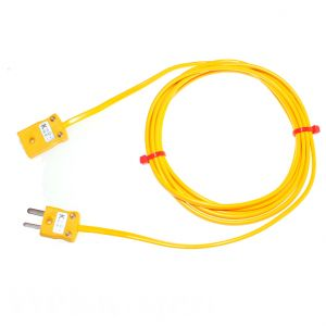 Type K PVC Extension Leads with Miniature Plug & Socket  (ANSI)