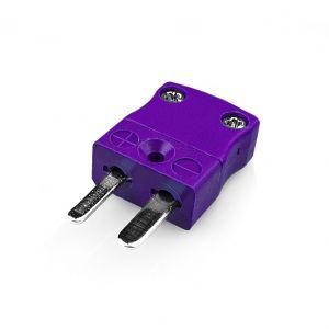 Miniature Thermocouple Connector Plug AM-E-M Type E ANSI