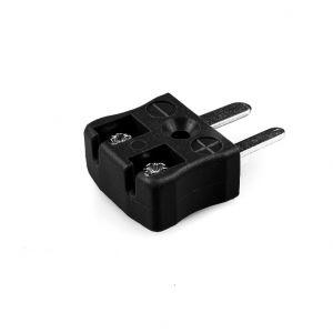 Miniature Quick Wire Thermocouple Connector Plug AM-J-MQ Type J ANSI