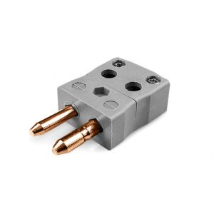 Standard Quick Wire Thermocouple Connector Plug AS-B-MQ Type B ANSI