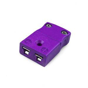 Miniature Thermocouple Connector In-Line Socket JM-E-FS Type E JIS