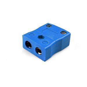 Standard Thermocouple Connector In-Line Socket JS-K-F Type K JIS