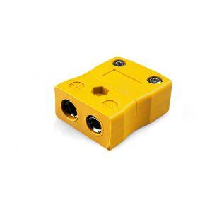 Standard Thermocouple Connector In-Line Socket JS-J-F Type J JIS