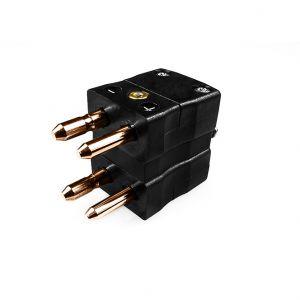 Standard Thermocouple Duplex Thermocouple Connector Plug JS-R/S-MD Type R/S JIS