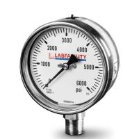 Stainless Steel Bourdon Tube Pressure Gauge (100mm Ø) with Glycerine Filled option