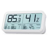 Digital Household Thermometer Hygrometer with rear magnet