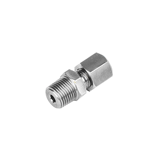 Stainless Steel Compression Fittings - Tapered Thread (BSPT)