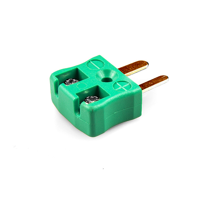 Miniature Quick Wire Thermocouple Connector Plug AM-R/S-MQ Type R/S ANSI
