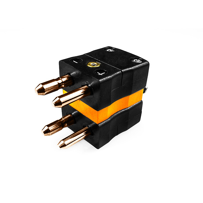 Standard Thermocouple Connector Duplex Plug IS-R/S-MD Type R/S IEC