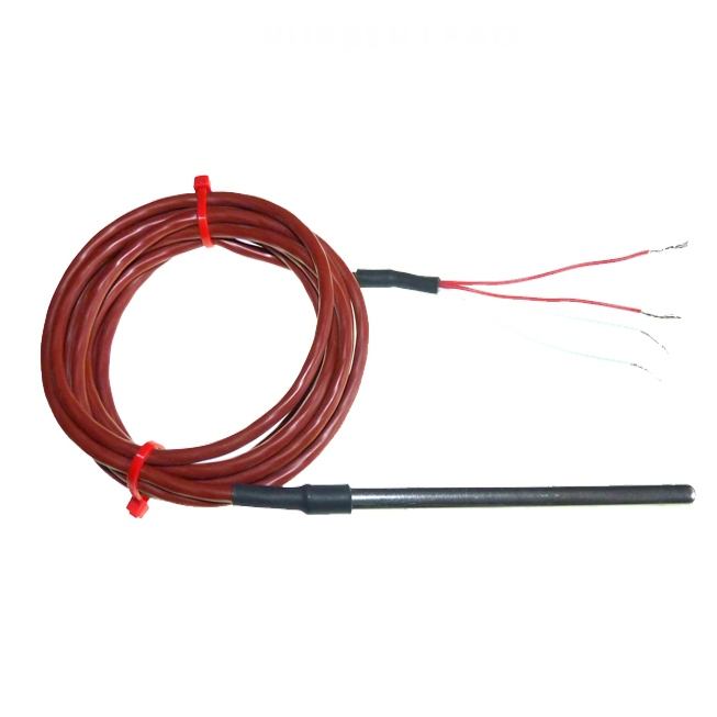 General Purpose Pt100 Silicone Rubber Lead - Type RTD / PRT