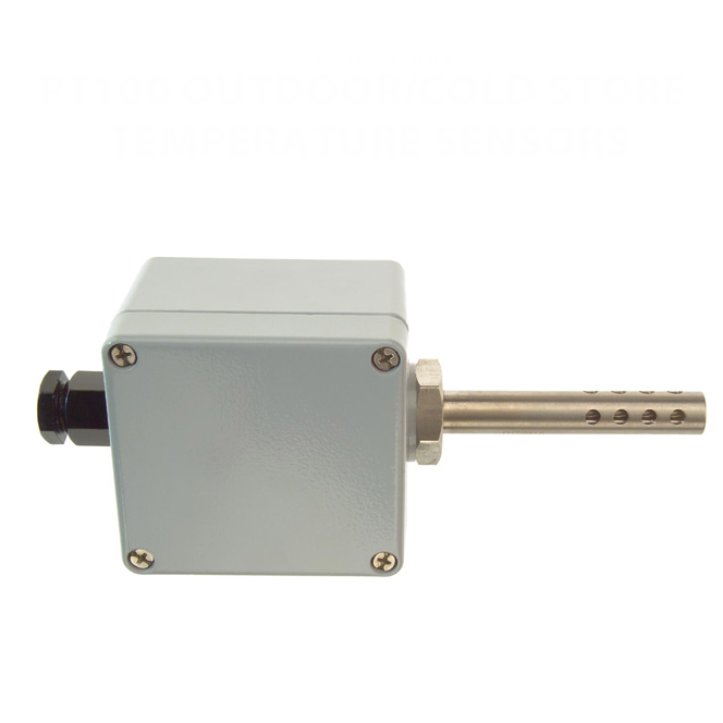 Pt100 Outdoor / Cold Store Temperature Sensors - Type PRT