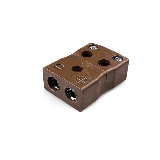 Standard Quick Wire Thermocouple Connector Socket JS-T-FQ Type T JIS
