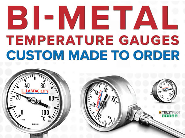 Custom made temperature gauges