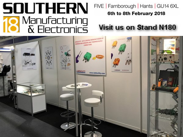 Labfacility Exhibit At Southern Manufacturing 2018 In Farnborough