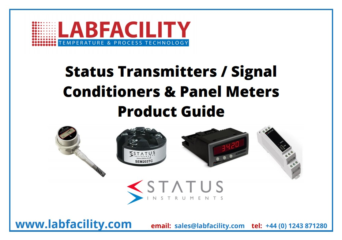 Status Instruments Product Guide