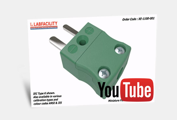 3D Animation of Miniature IEC Thermocouple Connector Plug