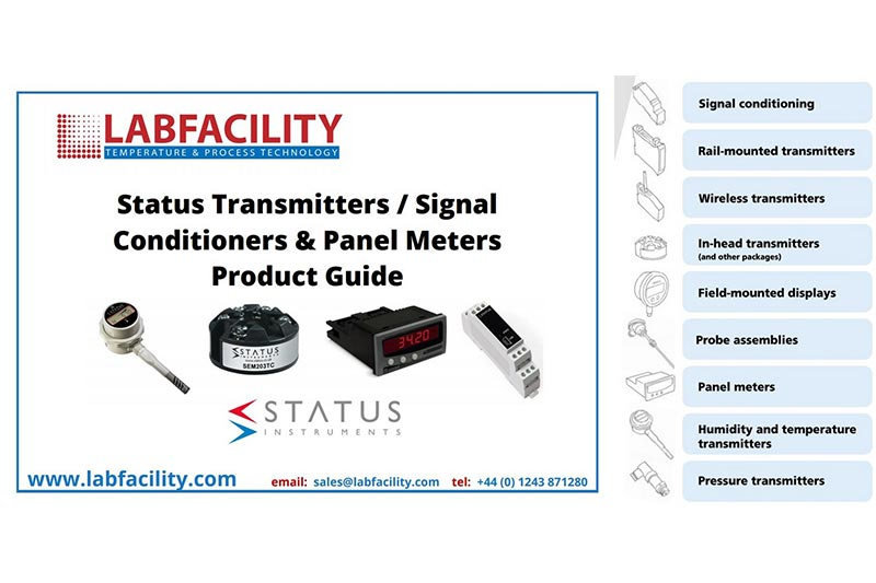 Status Instruments from Labfacility