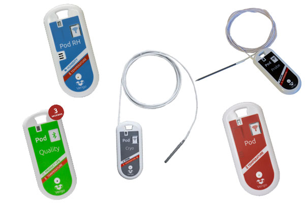 Verigo Cold Chain Range of Data Loggers for Monitoring